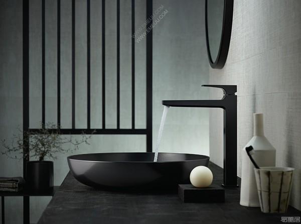 德国卫浴大牌汉斯格雅也来玩转浴室产品多色系,有看头!