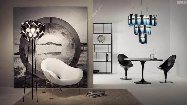 设计师推荐灯饰品牌SLAMP重新唤醒高贵形象