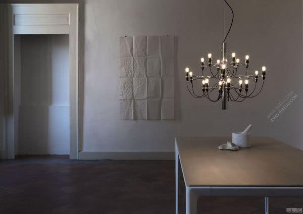 古典而现代,风格优雅的意大利灯饰品牌Flos