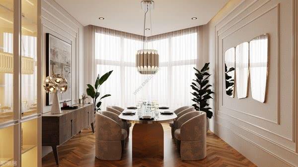 葡萄牙灯饰品牌DelightFULL为百万美元的公寓带来明亮多彩的空间