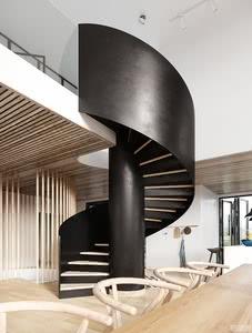 最新螺旋楼梯设计,感受独特的艺术魅力