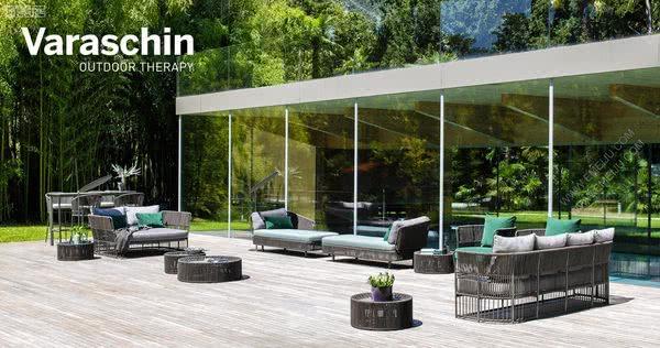 意大利家具品牌Varaschin为户外提供了新的表达可能性