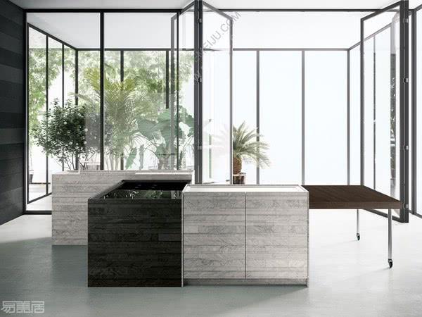 意大利厨卫品牌Boffi的专属多功能橱柜