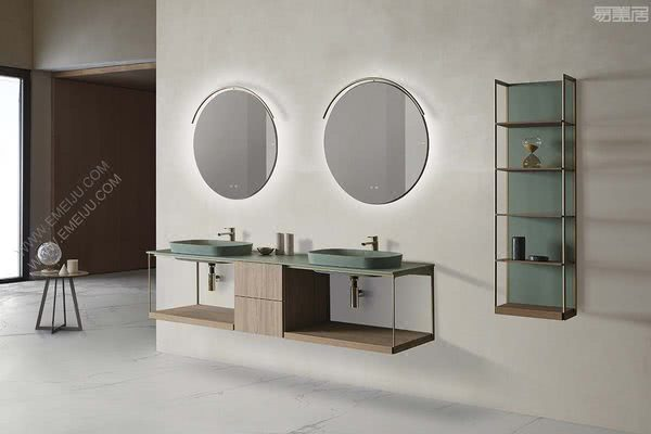 完整的浴室家具方案,西班牙卫浴品牌FIORA