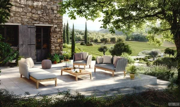 色彩与自然的完美融合,比利时家具品牌Royal Botania