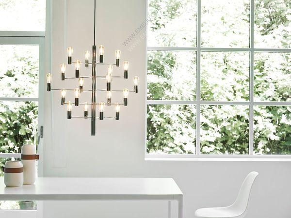 丹麦灯饰品牌Herstal营造出华丽的氛围