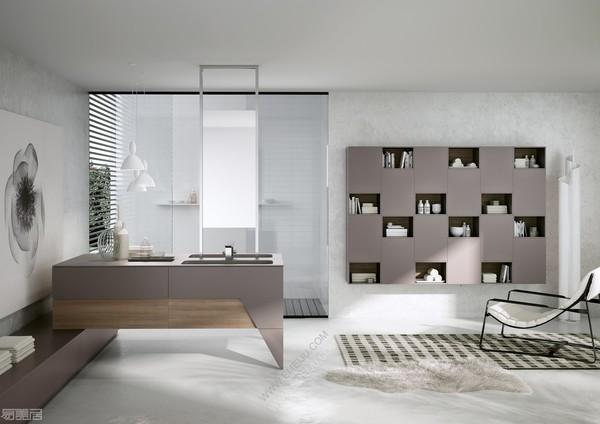 意大利卫浴品牌BMT让你自由创造大胆的色彩组合