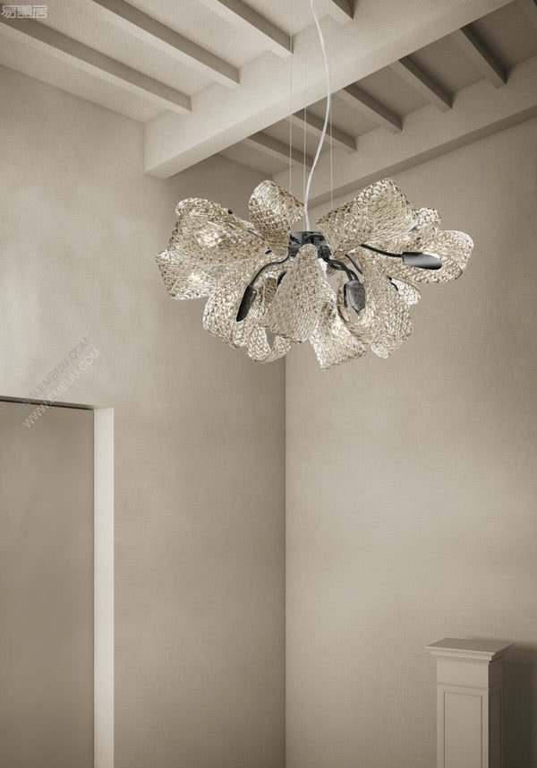 绚丽的色彩闪烁,意大利灯饰品牌Sylcom
