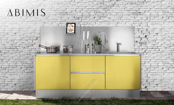 意大利橱柜品牌ABIMIS:高科技与熟练工艺的结合
