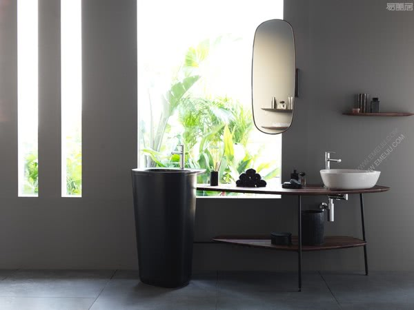 设计师推荐卫浴品牌VitrA威达重新诠释传统的浴室布局