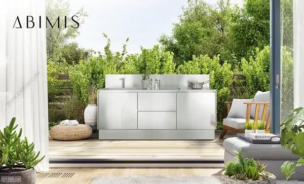 意大利橱柜品牌ABIMIS让你享受户外烹饪的乐趣