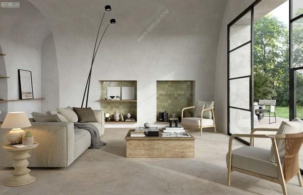 舒适优雅的理想基础,意大利瓷砖品牌Marazzi