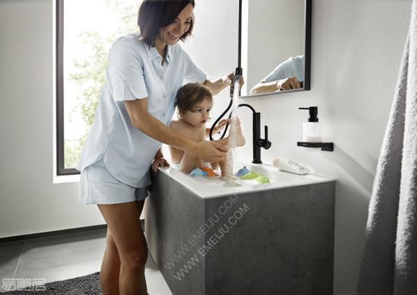 家庭浴室的绝佳选择,德国卫浴品牌Hansgrohe汉斯格雅