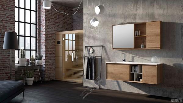 意大利卫浴品牌Mobiltesino创造出自然而精致温暖的氛围