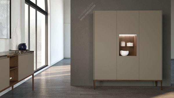 意大利卫浴品牌Mobiltesino赋予了独特的浴室家具以生命