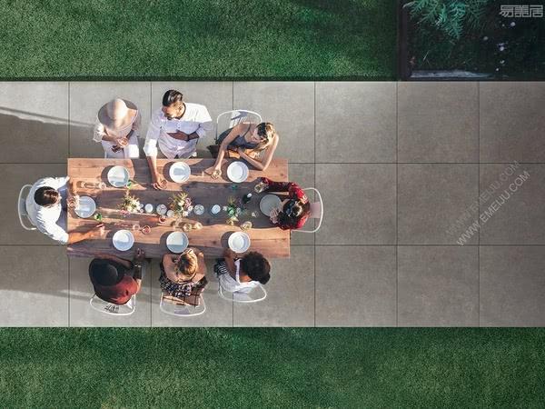 带你充分体验户外生活的意大利瓷砖品牌Caesar