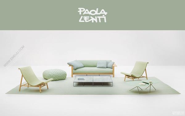 意大利家具品牌Paola Lenti:环境的可持续性和生态平衡