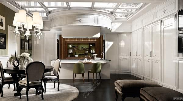 对1950年代风格的诠释,意大利橱柜品牌Martini Interiors