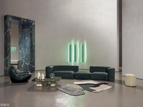介于艺术、时尚和建筑之间的意大利家具品牌Baxter