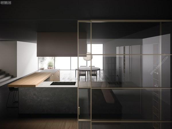 Boffi厨卫的纯粹设计,定义厨房空间的意大利厨卫品牌