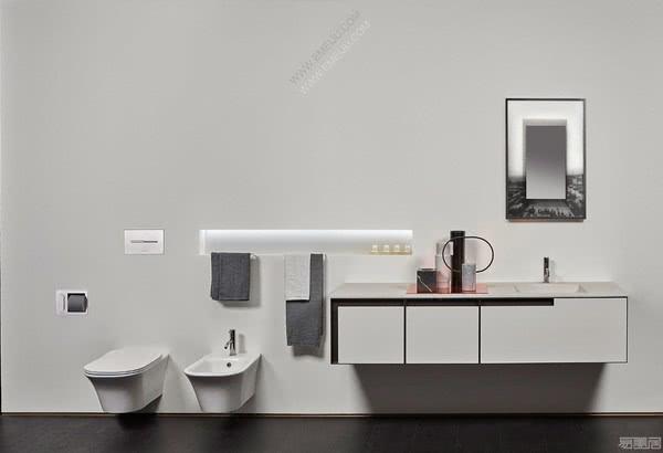 简洁的魅力,设计师卫浴品牌antoniolupi安东尼奥·卢比