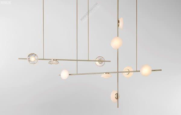 澳大利亚灯饰品牌Ross Gardam散发出精致的光度
