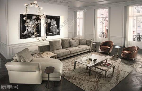 意大利家具品牌Longhi:现代时尚的当代生活趋势