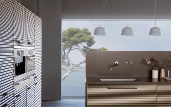 意大利橱柜品牌Schiffini:精致的概念化橱柜