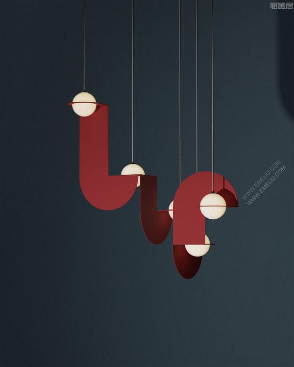 简洁的诗意,设计师灯饰品牌Lambert&Fils