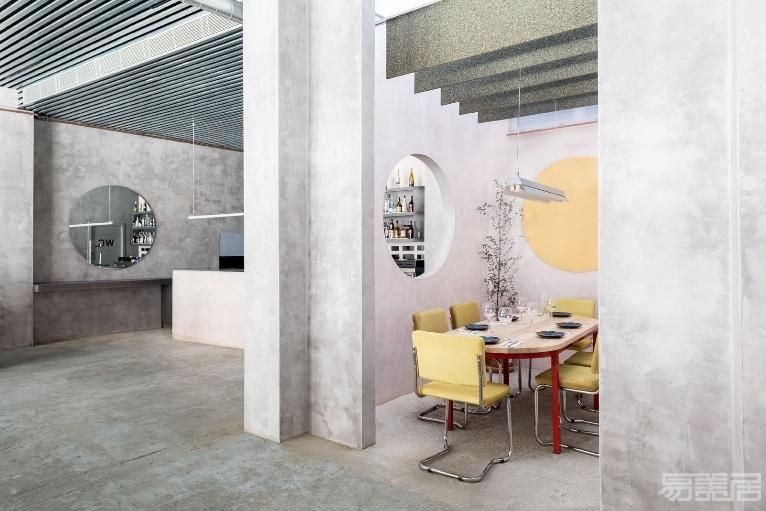 酒吧设计:用混凝土打造的西班牙Casaplata小清新酒吧,室内设计,酒吧设计