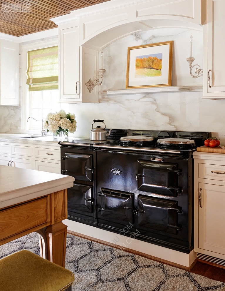 北卡罗莱纳州的室庐装修后果图,保持优雅和温馨,设计装修后果图,装修后果图