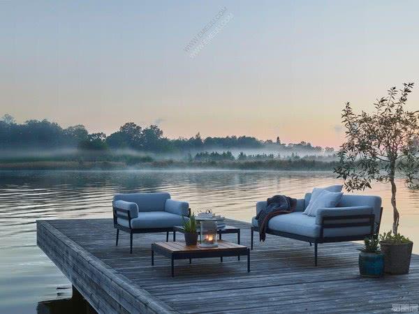 家具设计师品牌Skargaarden对美丽而短暂的夏季的致敬