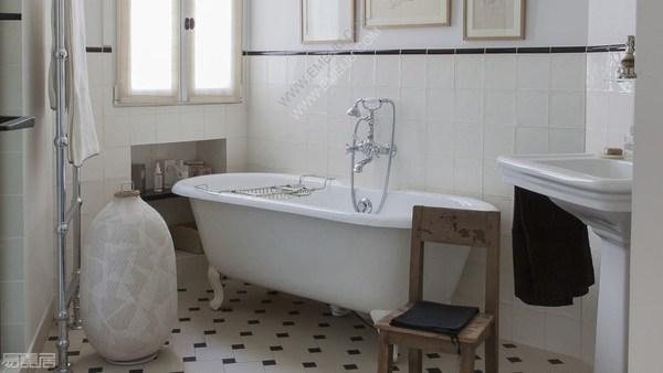 意大利卫浴品牌Devon&Devon营造出巴黎式公寓的精致氛围