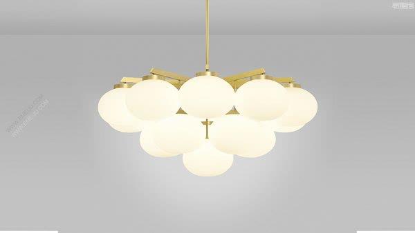 英国灯饰品牌CTO Lighting带来一种天堂般的效果