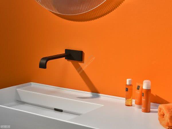 极简主义的魅力,比利时卫浴品牌rvb