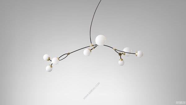 永恒的雕塑作品,英国灯饰品牌CTO Lighting