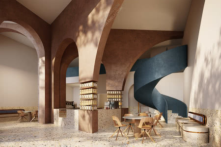 会员福利:最新2021咖啡甜品轻食店设计40套资料免费下载,请查收!