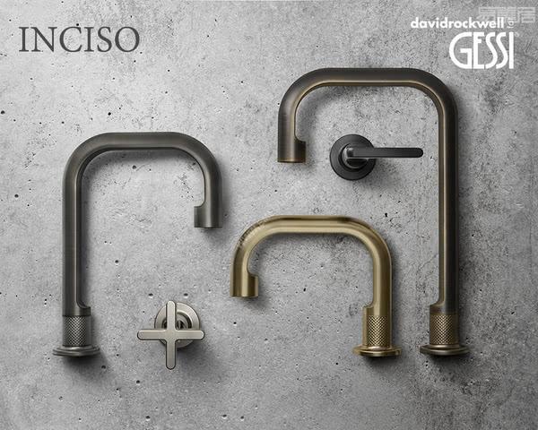 意大利卫浴品牌捷仕GESSI:大受欢迎的Inciso系列