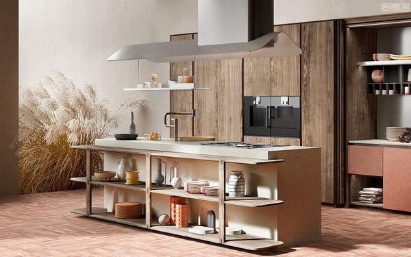 意大利橱柜品牌TONCELLI以现代的方式重新诠释传统元素