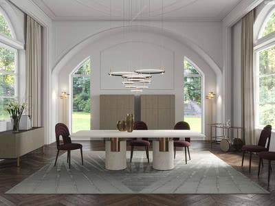 最新餐桌设计,给家增加独一无二的光彩