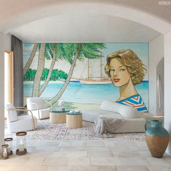 珍贵的艺术收藏系列,意大利墙纸品牌TECNOGRAFICA