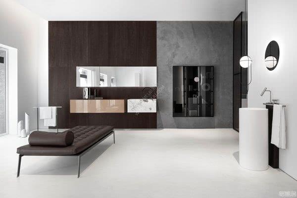 重新演绎最小的浴室空间,意大利卫浴品牌Falper