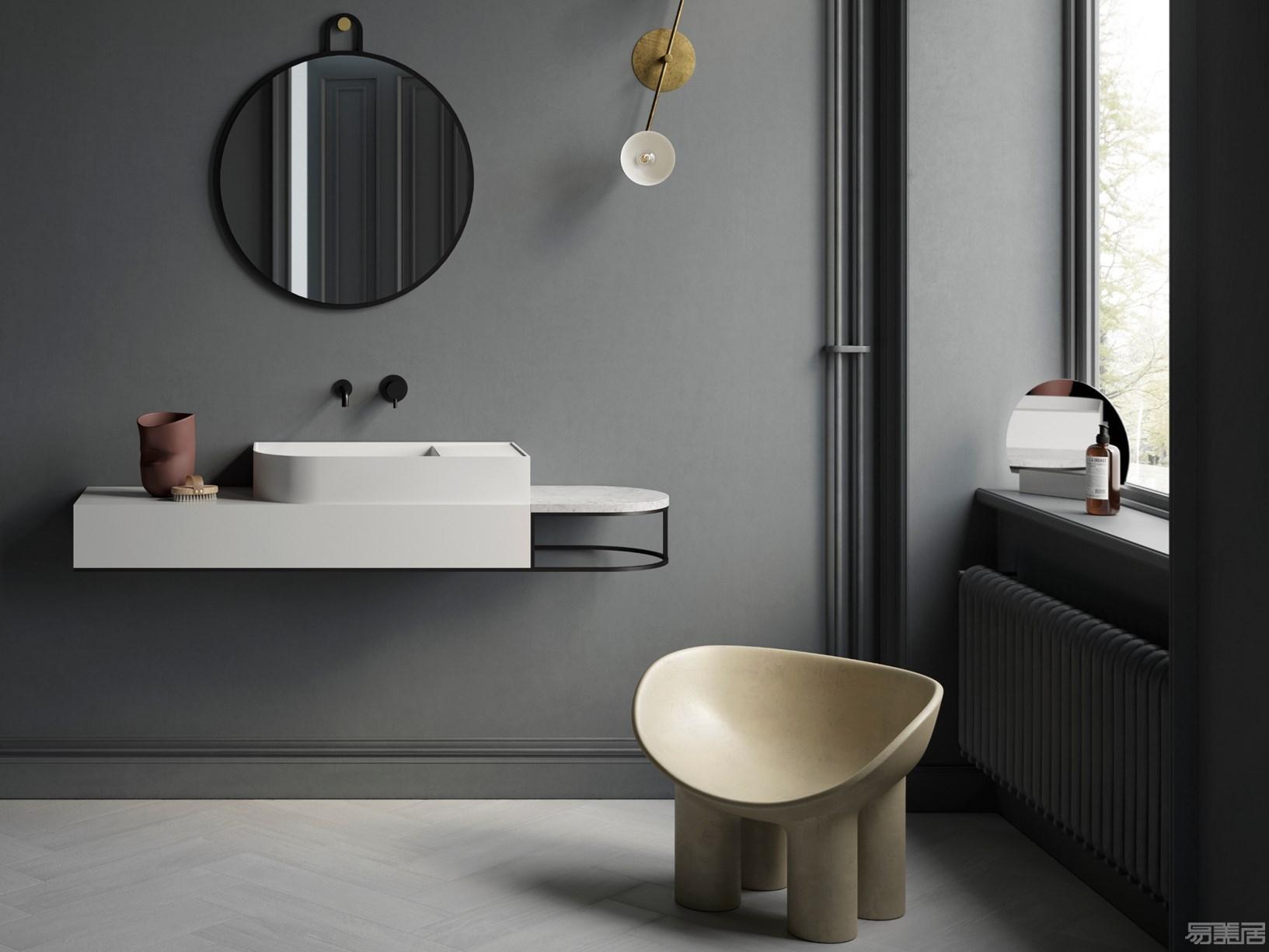 Ex.t打造出产全新浴池修饰艺术:Nouveau系列,Ex.t,Nouveau系列