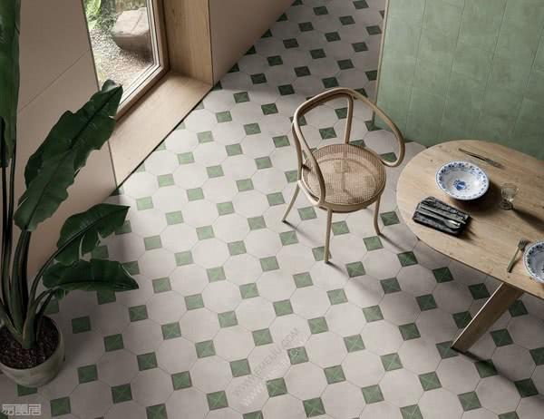独特而富有创意的色彩,意大利瓷砖品牌Marca Corona