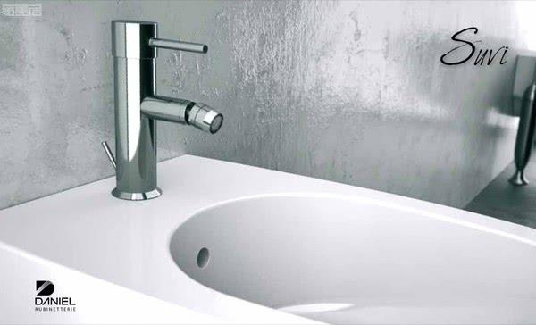 意大利卫浴品牌Daniel:高水平的质量和对细节的关注
