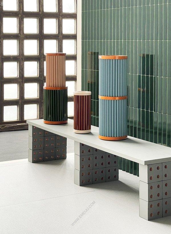 意大利瓷砖品牌Mutina与Bouroullecs合作10周年的故事:探索瓷砖之旅