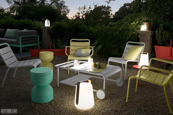 力量与优雅感,法国灯饰品牌Fermob