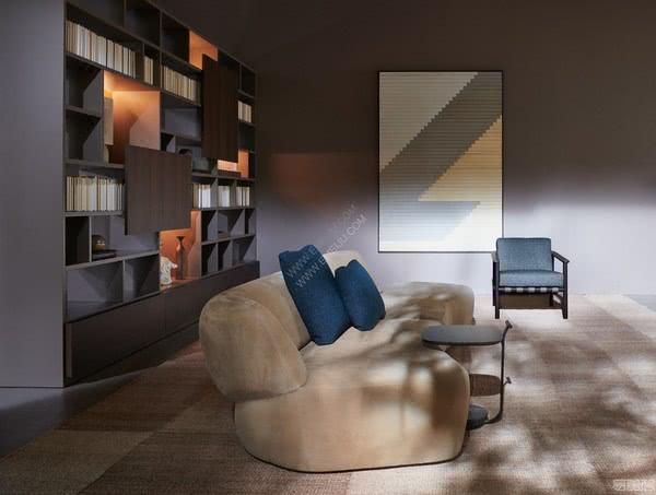 意大利家具品牌Molteni&C的未来派风格设计