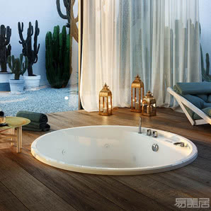 nubea round--嵌入式浴缸