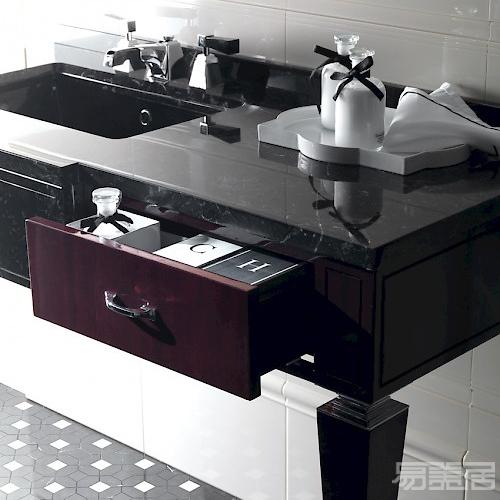 BENTLEY SX-DX 梳妆台,Devon&Devon,卫浴